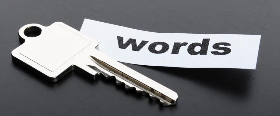 encontrar palavras chave
