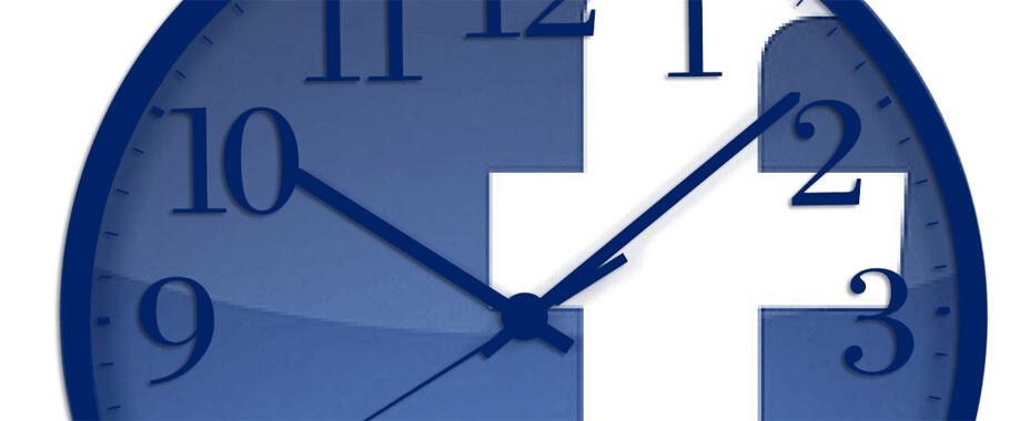 melhor hora facebook