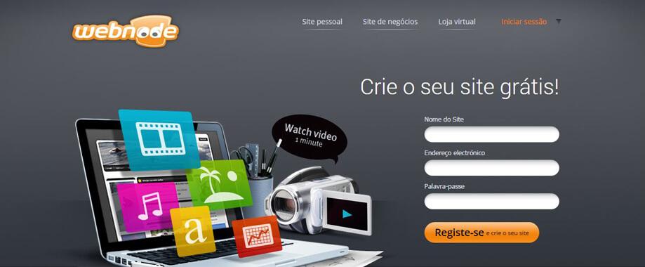 8744d0808 Crie o seu site ou loja online com o Webnode