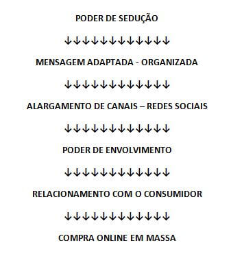 marketing na internet - esquema