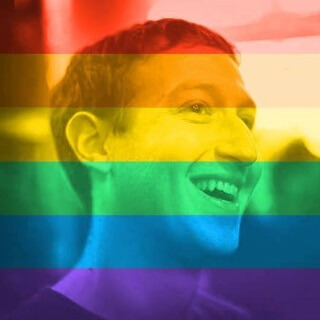 zuckerberg celebrate pride