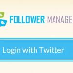 Follower Manager: gerir a conta do Twitter nunca foi tão simples